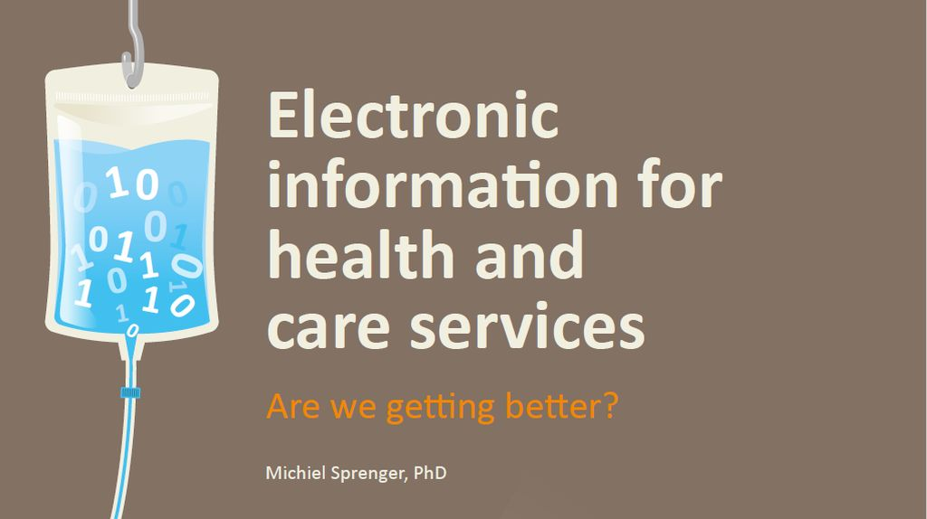 Electronic information for health and care services